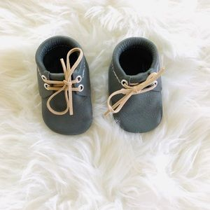 Other - NWOT Vegan Leather Baby Booties
